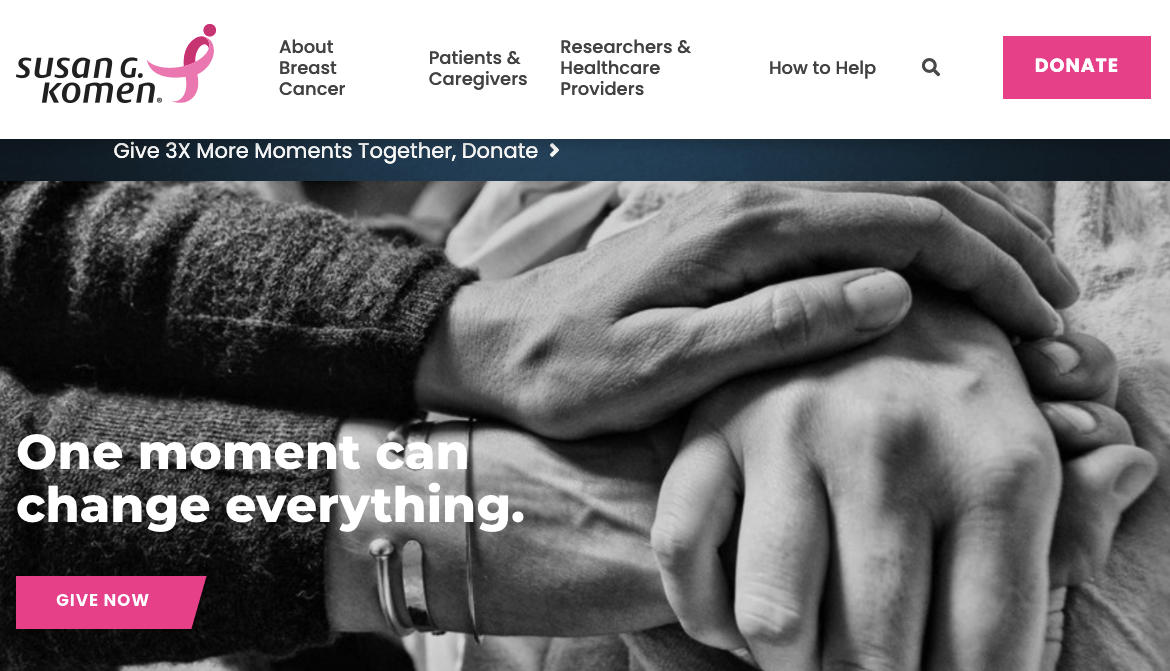 top cancer charities