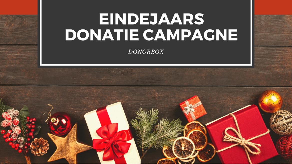 13 stappen naar de perfecte eindejaars donatie campagne