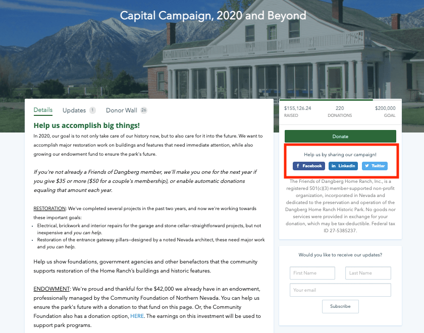 what is a capital campaign