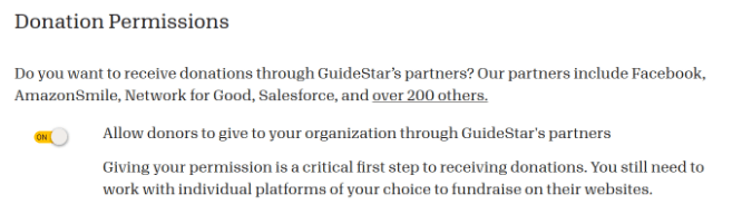 how to create guidestar profile for nonprofit